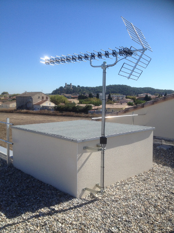 installateur antenne les angles