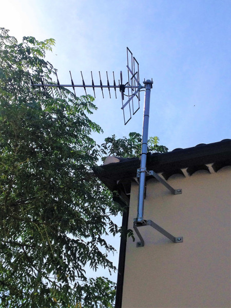 installation antenne les angles
